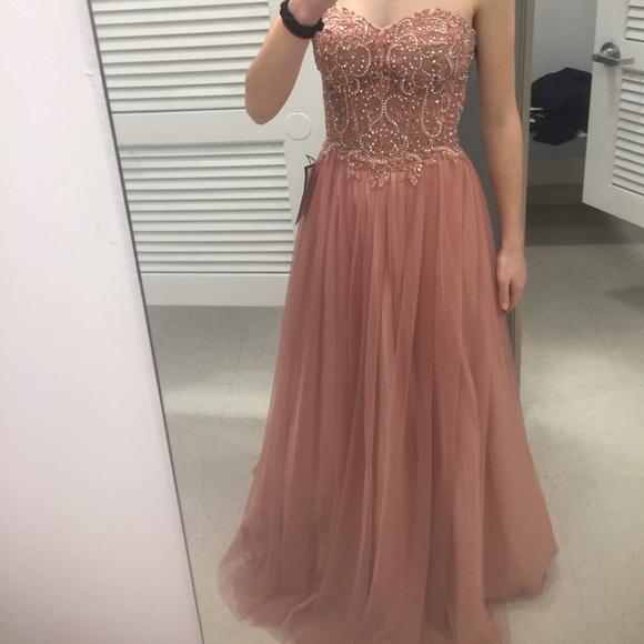 Blondie Nites Dresses | Prom Dress Rose
